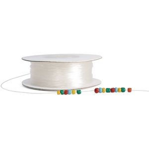 Colorations® Clear Stretchy Beading Cord - 100 Yards