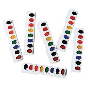 Colorations® Best Value Washable Watercolor - Set of 6 Refills, 8 Colors