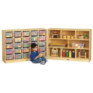 Mobile Cubbie Fold-N-Lock Storage - 35-1/2