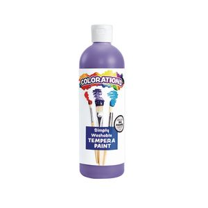 Colorations® Violet Simply Washable Tempera, 16oz.