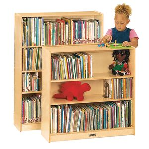 "36""H Bookcase with 2 Adjustable Shelves"