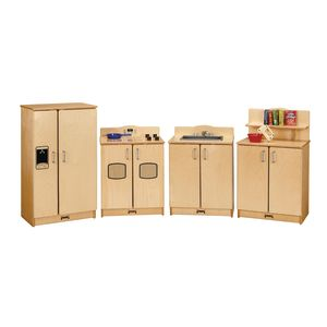 Jonti-Craft® 4 Piece Birch Kitchen Set