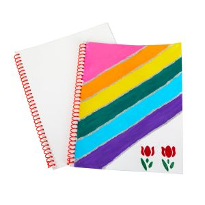 Colorations® Blank Journal Notebooks Set of 12