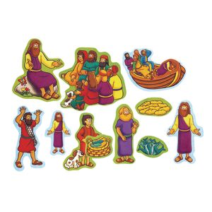 Miracles of Jesus Beginners Bible™ Felt Story Set