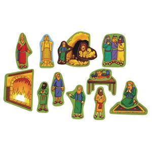 Daniel and the Lion's Den Beginners Bible™ Felt Story Set