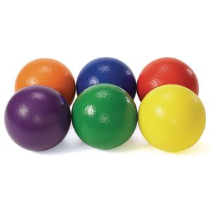 Low Density Foam Balls - Set of 6