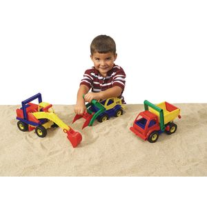 Construction Trucks - Set of 3