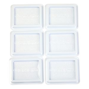 Colorations® Liquid Watercolor™ Blank Stamp Pads - 6 Pieces