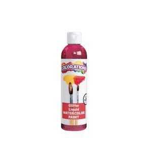 Colorations® Glitter Liquid Watercolor™, Magenta - 8 oz.