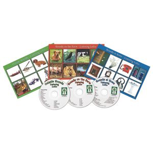 Listening Lotto Games - Set of 3