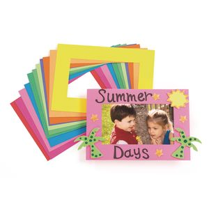 Bright Lightweight Tag Frames - 24 Pieces