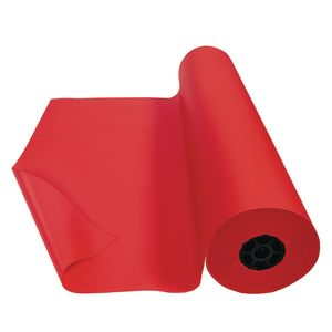 Colorations® Dual Surface Paper Roll, Flame Red, 36