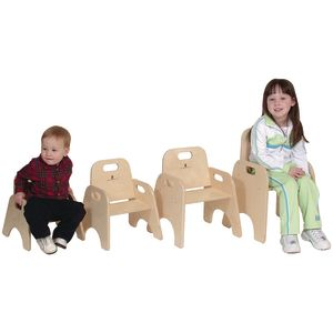 "9""H Infant & Toddler Chair with Strap"