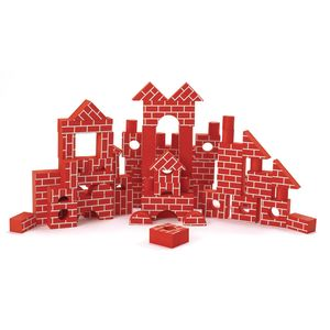 Excellerations® Foam Brick Blocks - Set of 68