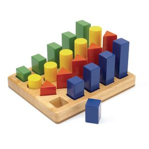 Shape Sequence Blocks - 21 Pieces