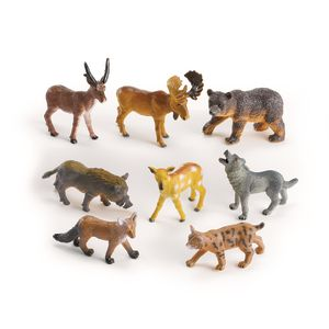 Medium Forest Animals - Set of 8