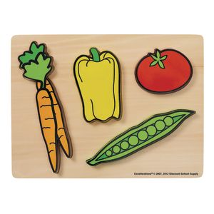 Excellerations® Vegetables Chunky Puzzles