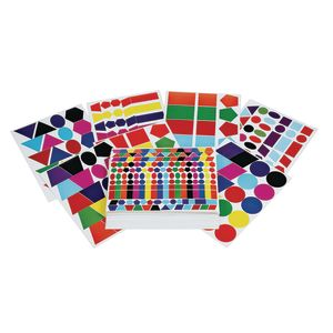 Colorations® Super Value Sticker Shapes Pack - 100 Sheets