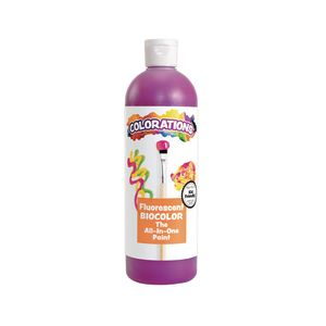 BioColor® Paint, Fluorescent Purple - 16 oz.