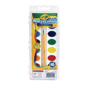 Crayola® Washable Watercolors - 16 Colors