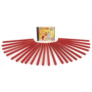 Rhythm Sticks Movement Set - 25 pcs