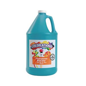 BioColor® Paint, Fluorescent Turquoise - 1 Gallon