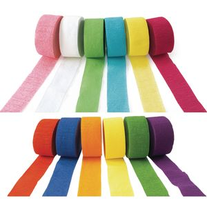 Colorations® Crepe Paper Streamers - Set of All 12