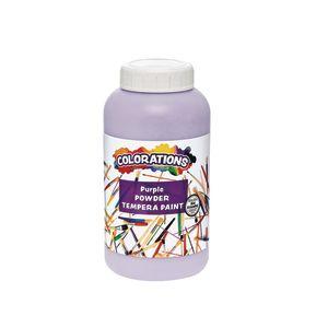 Colorations® Powder Tempera, Purple - 1 lb.