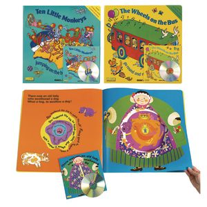 Big Book and CD Superset - Set of All 3 Titles