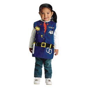 Toddler Career Costume - Police Officer