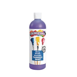 Colorations® Simply Shiny Washable Tempera, Purple - 16 oz.