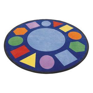 Geometric Shapes Carpet - 6'6