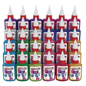 Colorations® Glitter Glue Classroom Pack - Set of 30