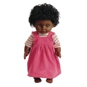 "16"" Multicultural Toddler Doll - African American Girl"