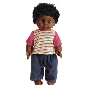 "16"" Multicultural Toddler Doll - African American Boy"