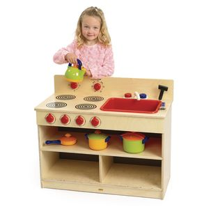 Birch Toddler 2-in-1 Kitchen Set