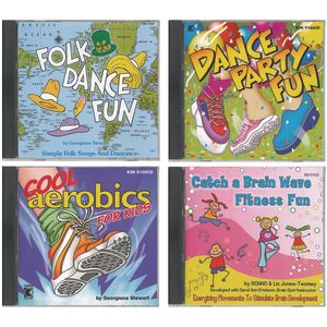 Daily Fitness - 4 CD Set