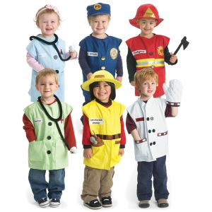 Excellerations® Career Toddler Costumes - Set of All 6