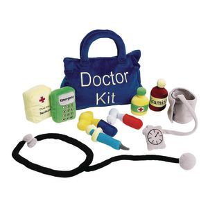 Excellerations® Plush Doctor Kit - 10 Pieces