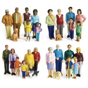 Excellerations® Pretend Play Figures - Set of 28
