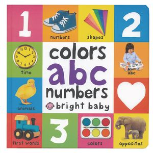 ABC Numbers Bright Baby Book