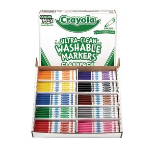 Crayola® Ultra-Clean Washable® Fine Tip Marker Classpack® - 200 pieces