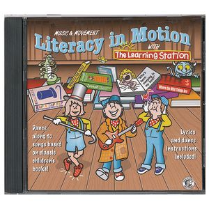 Literacy in Motion CD