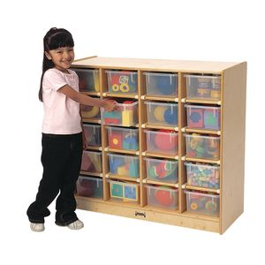 20 Tray Mobile Storage with Assorted Trays