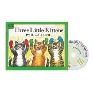 The Three Little Kittens Book & CD