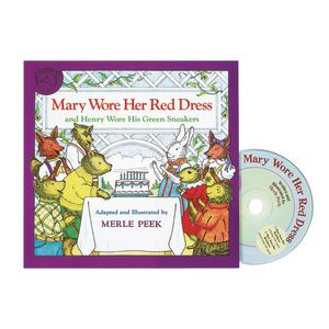 Mary Wore Her Red Dress Book & CD