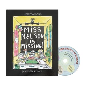 Miss Nelson is Missing Book & CD