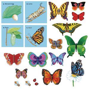 Butterflies Felt Set