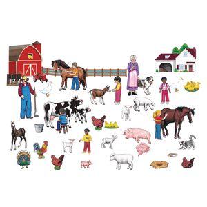 Large Farm Felt Set