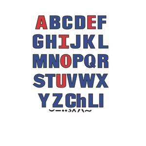 Uppercase Letters Felt Set
